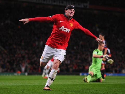 David Moyes hails 'terrific' Wayne Rooney after opening Champions League victory