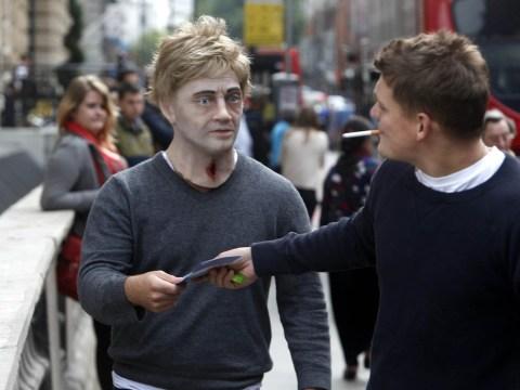 'Zombies' lumber through London to warn smokers of dangers of tobacco