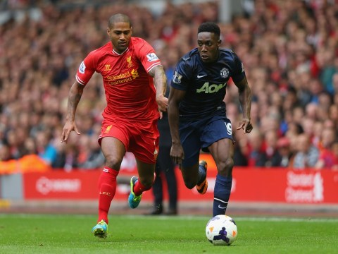 Liverpool's Glen Johnson moves closer to return as he has leg brace removed