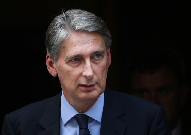 LONDON, ENGLAND - AUGUST 27:  Defence Secretary Philip Hammond leaves Downing Street on August 27, 2013 in London, England. Prime Minister David Cameron has announced a recall of Parliament to debate the United Kiingdom's response to events in Syria. Getty Images