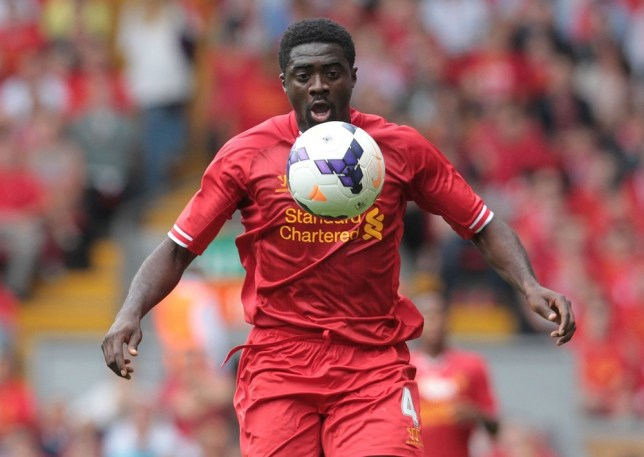 Making friends: Liverpool's Ivorian defender Kolo Toure (Picture: AFP/Getty Images)