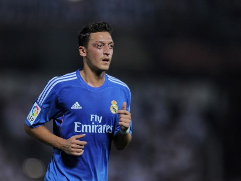 'Don't sell Mesut Ozil to Arsenal!' Angry Real Madrid fans hijack Gareth Bale presentation