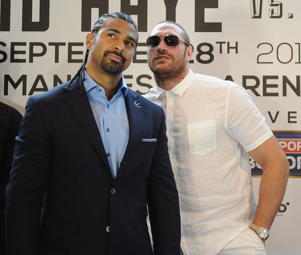David Haye aims to walk tall against giant Tyson Fury in Manchester super-fight