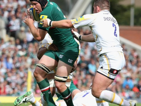Flanker Julian Salvi gunning to build on Leicester's winning start to the season