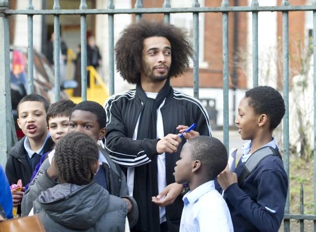 Tottenham Hotspur's French football play