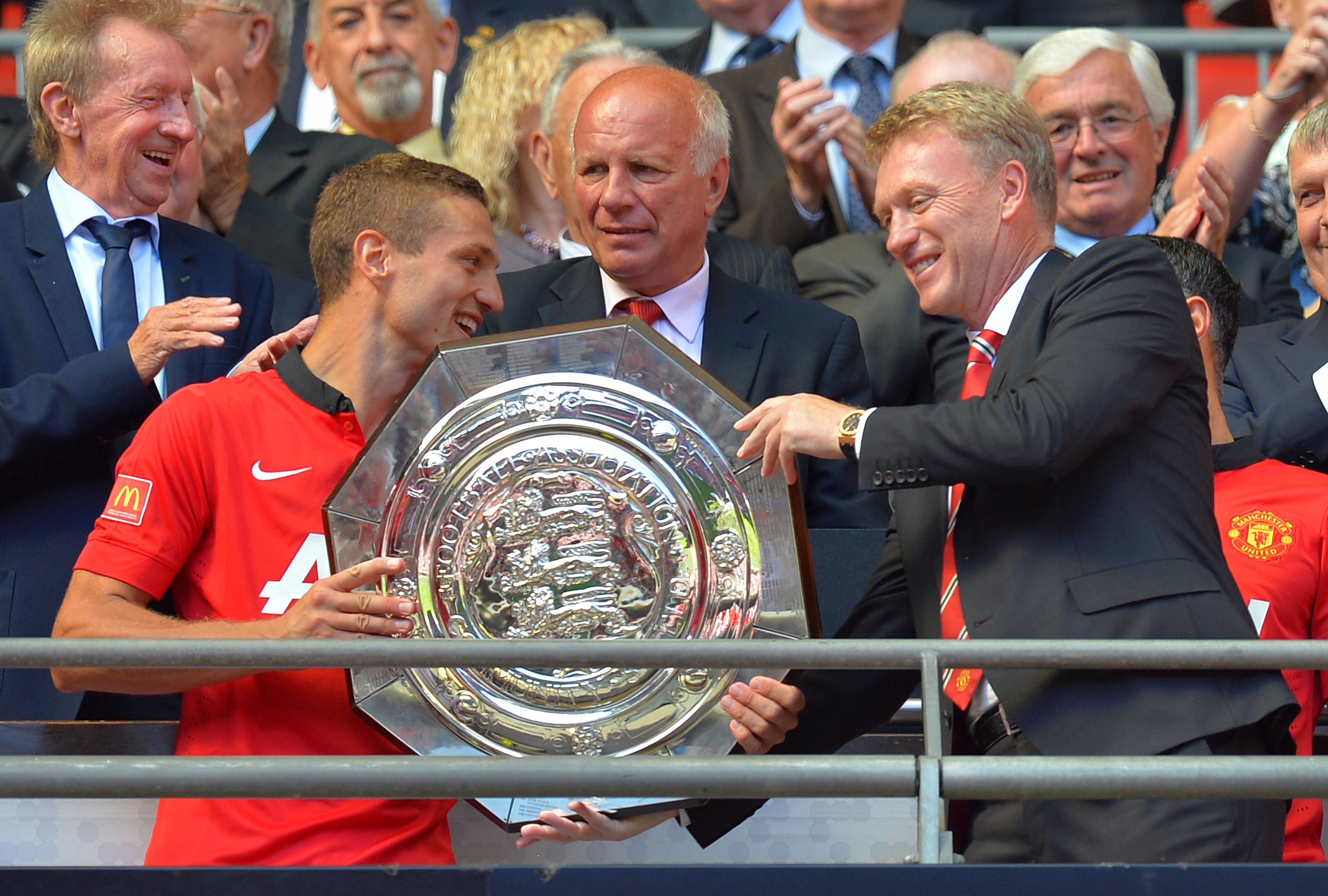 Nemanja Vidic insists Manchester United players love life under David Moyes