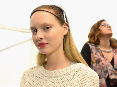 Backstage beauty: Monique Lhullier and Ruffian
