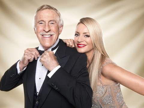 'It's been an absolute pleasure': Tess Daly leads reaction to Bruce Forsyth's Strictly Come Dancing departure
