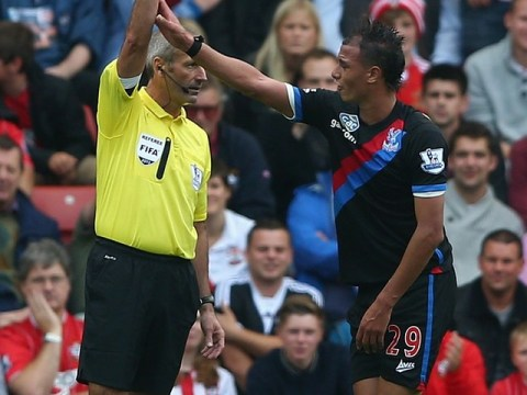 All hail Martin Atkinson for spotting Marouane Chamakh's dive