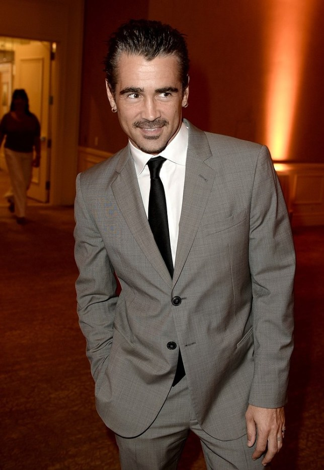 Colin Farrell has unexpected visitor turn up (Picture: Getty)