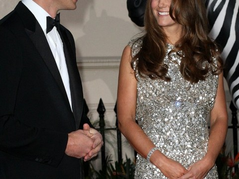 Kate Middleton sparkles at first official public appearance since royal birth