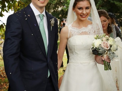 Tony Blair's son Euan marries long-term love in stunning Buckinghamshire ceremony