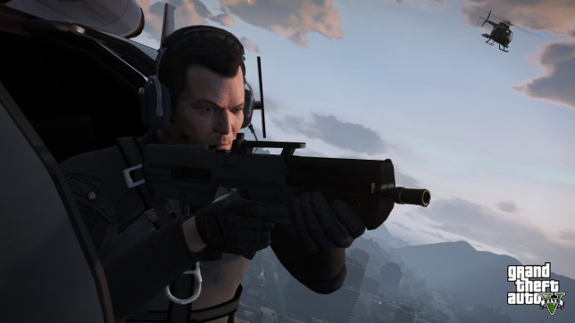 Grand Theft Auto V - not coming to the silver screen