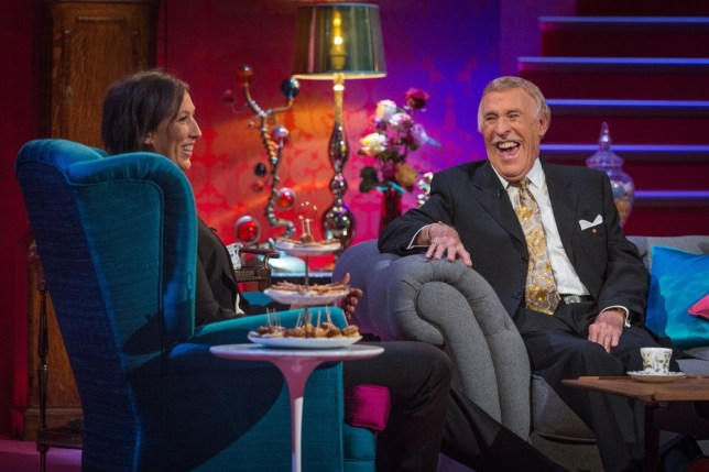 Programme Name: When Miranda Met Bruce - TX: n/a - Episode: n/a (No. n/a) - Embargoed for publication until: n/a - Picture Shows: (L-R) Miranda Hart, Sir Bruce Forsyth - (C) BBC - Photographer: Guy Levy