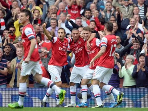 Gallery: Arsenal beat Stoke City 3-1 September 22 2013
