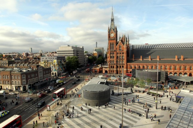 King's Cross Square opens to the public after £550m revamp