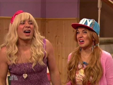 Lindsay Lohan mocks Miley Cyrus on Late Night With Jimmy Fallon: 'Twerking is so 2013'