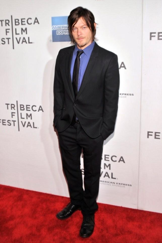 Norman Reedus stars in The Walking Dead (Picture: Stephen Lovekin/Getty Images)