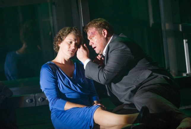 Emma Bell and Stuart Skelton in Fidelio by Beethoven (Picture: Tristram Kenton)