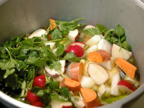 Breast Cancer Awareness Month: How to cook Rebecca Katz's cancer-fighting broth