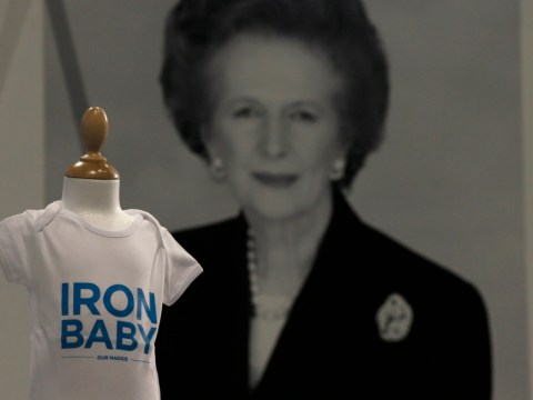 Margaret Thatcher bibs and beer go on sale at Conservative party conference