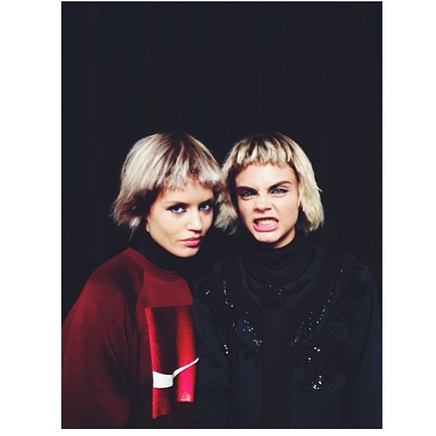 Gallery: Georgia May Jagger and Cara Delevingne shine at Marc Jacobs show at New York Fashion Week