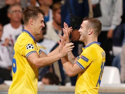 Aaron Ramsey winner helps Arsenal see off Marseille in Champions League opener