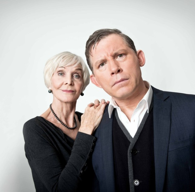 Sheila Hancock and Lee Evans star in the rollicking Barking In Essex (Picture: Shaun Webb)