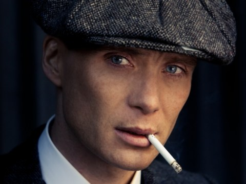 Cillian Murphy plays a Peaky Blinder in his small-screen debut