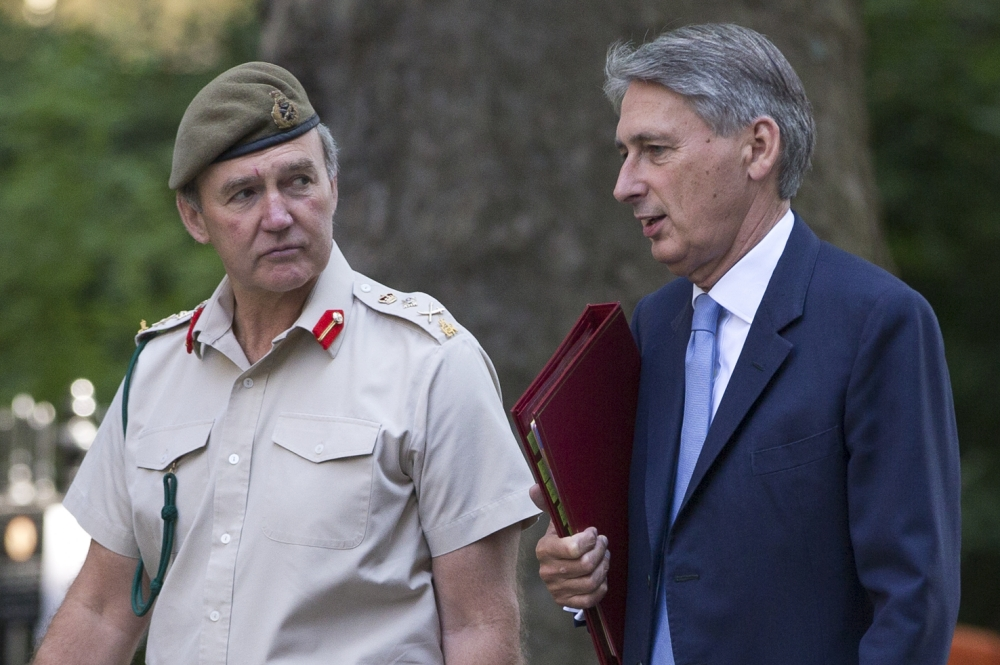 Philip Hammond defends Britain's approval of chemical export licence to Syria