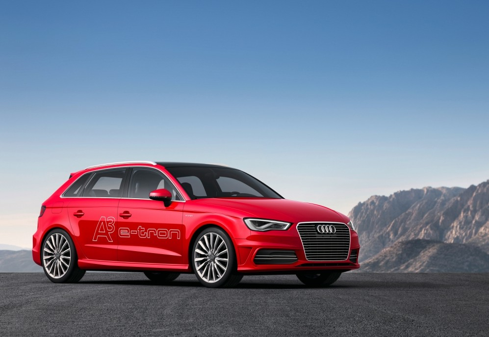 The Audi A3 e-tron is an economical plug-in hybrid that is capable of some nifty manoeuvring (Picture: supplied)