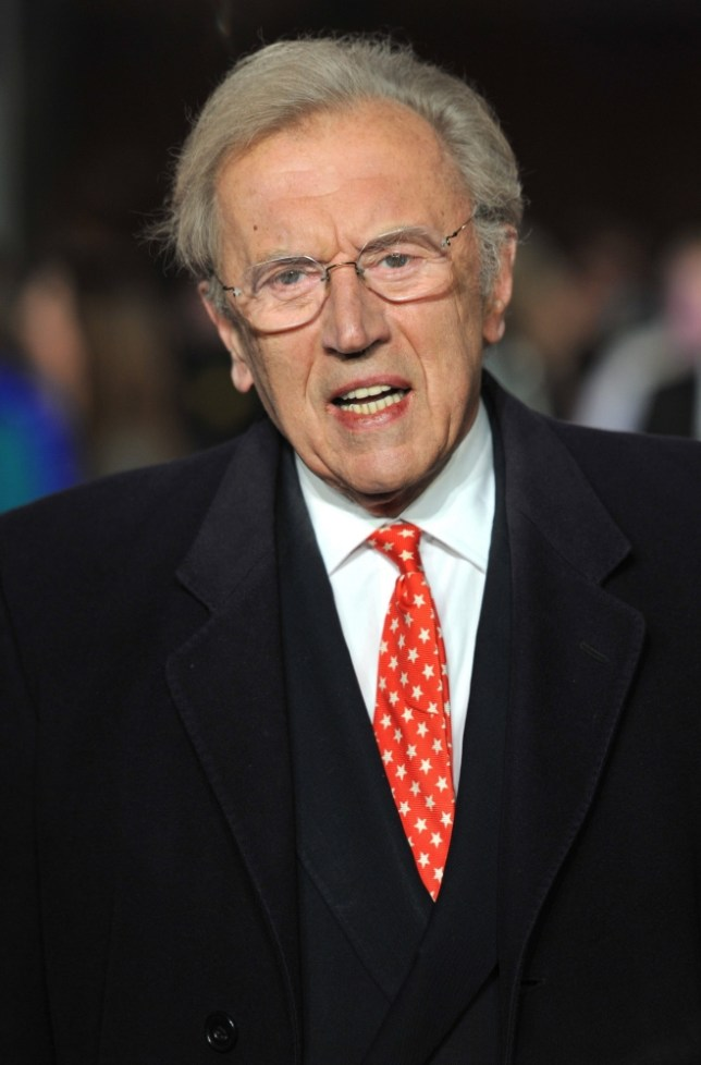 epa03846017 (FILE) A file picture dated 11 January 2012 shows British broadcaster Sir David Frost arriving for the UK Premiere of W.E. held at the Odeon Kensington in West London, Britain. According to media reports on 01 September 2013, Frost has died of a suspected heart attack at the age of 74.  EPA/DANIEL DEME