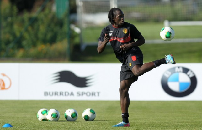 Belgium's Romelu Lukaku juggles with the ball during a training session of the Belgian national soccer team, on September 2, 2013 in Brussels, a few days before their 2014 World Cup qualifying match against Scotland in Glasgow.     BELGA PHOTO VIRGINIE LEFOURVIRGINIE LEFOUR/AFP/Getty Images