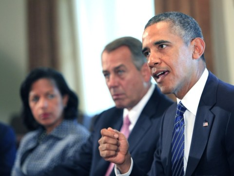 You can attack Syria, top politicians tell Barack Obama