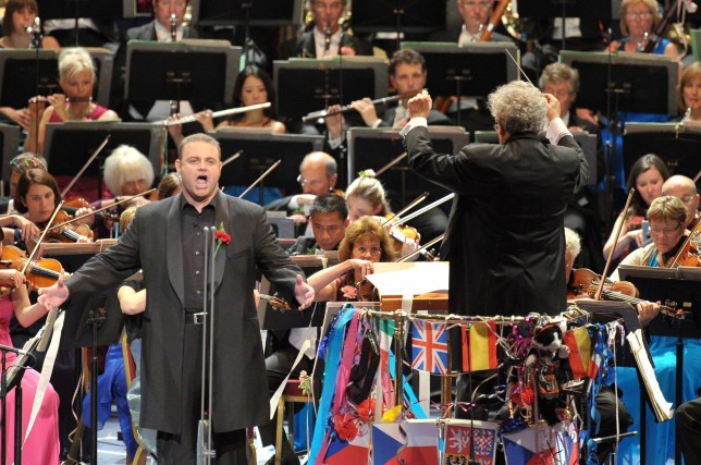 Joseph Calleja is due to sing arias by Verdi at tonight's Prom (Picture: Chris Christodoulou/BBC)