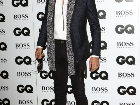 Russell Brand stuns GQ Men Of The Year audience with Nazi rant and salute