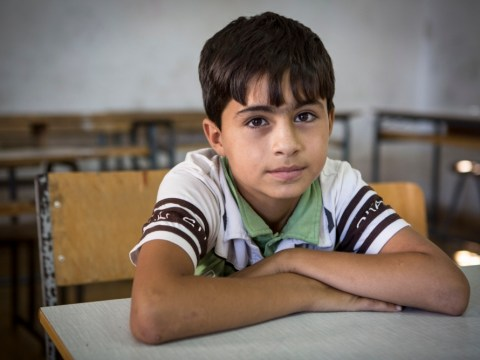 Learning to eye the future: Syrian children attempt to rebuild their lives