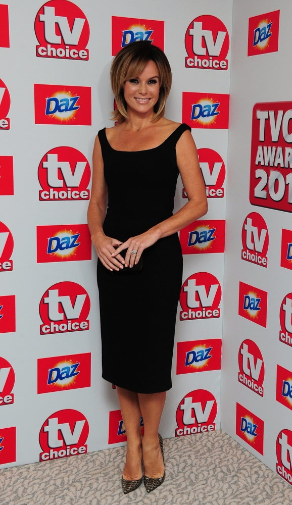 Britain's Got Talent judge Amanda Holden reveals she was 'relieved' when Les Dennis cheated on her
