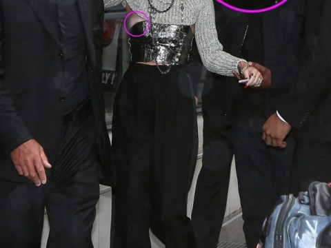 She can't be tamed: Miley Cyrus suffers nipple slip in Paris