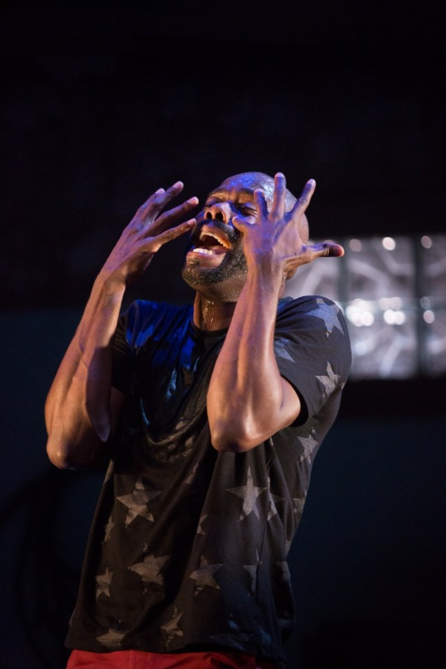 Colman Domingo in A Boy and His Soul at The Tricycle Theatre (Picture: Mark Douet)
