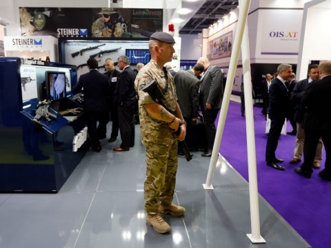 Illegal torture devices on sale at DSEI arms fair