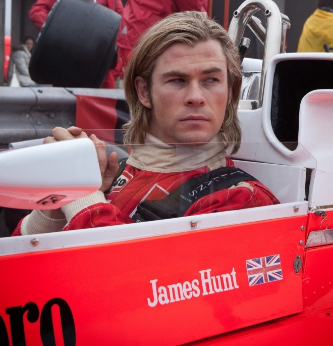 Chris Hemsworth provides a Rush a minute in this F1 thriller