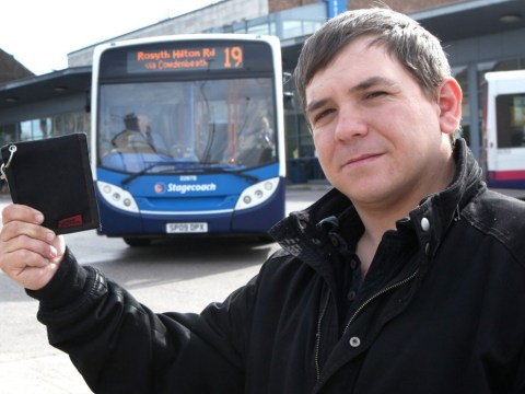 Bus company charges disabled dad £30 to return lost wallet