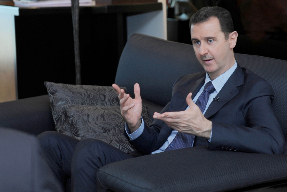 Syria: Bashar al-Assad agrees to surrender chemical weapons