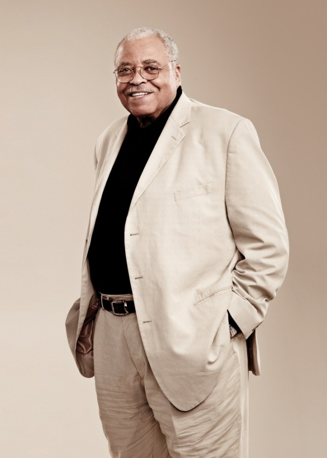 James Earl Jones - like all men, he's got sex on the brain (PIcture: Jay Brooks)