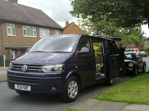 Thieves steal disabled man's mobility van from outside his Staffordshire home