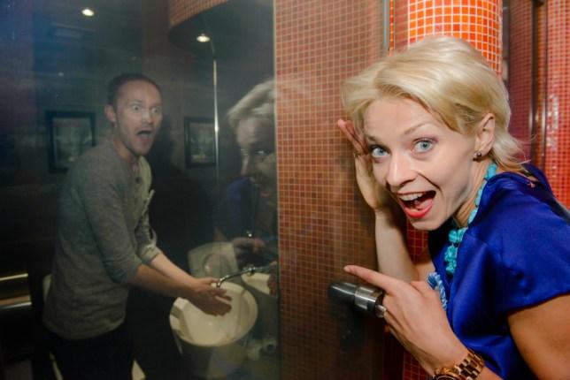 Helen Croydon joins her fellow adventurous singletons in the toilets at Aldwych's Cellar Door (Picture: José Farinha)