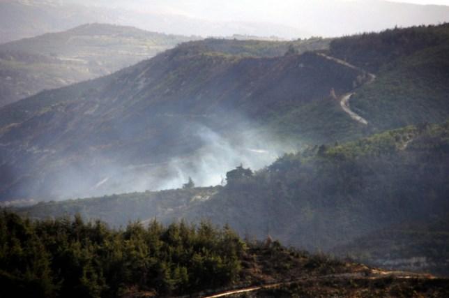 Turkish warplanes shoot down Syrian helicopter