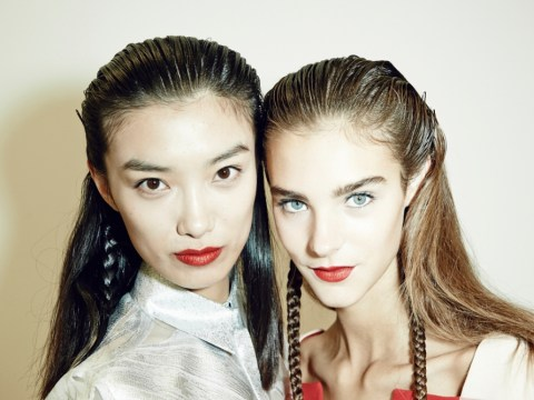 Gallery: London Fashion Week— Backstage Beauty at Antonio Berardi SS14