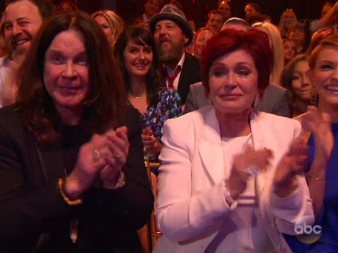 Sharon Osbourne breaks down on live TV after watching son Jack on Dancing With The Stars